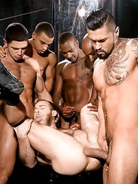 Free gay gang bang